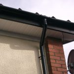 roofline black fascia white soffit