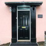 about-4 Composite Door Black 6 Panel