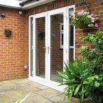 Upvc french doors with sidelights
