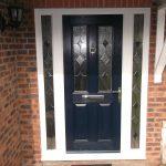 composite door blue double sidelights