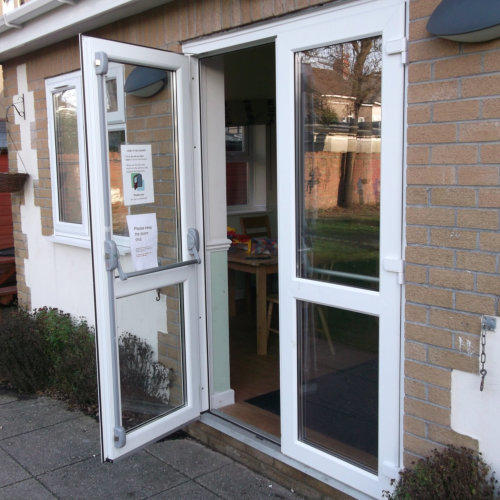 Upvc French Doors emergency escape